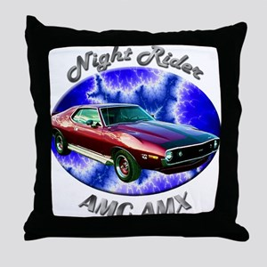 AMC AMX Throw Pillow