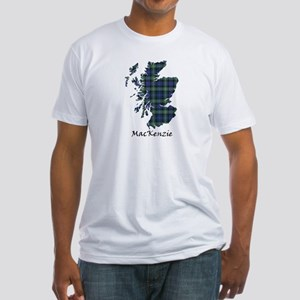 Map-MacKenzie Fitted T-Shirt