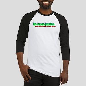 Jesus Justice Baseball Jersey