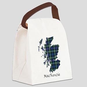 Map-MacKenzie Canvas Lunch Bag