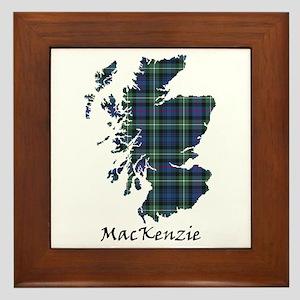 Map-MacKenzie Framed Tile