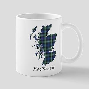 Map-MacKenzie 11 oz Ceramic Mug