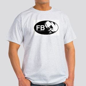 FB Short Boarder Ash Grey T-Shirt