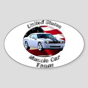 Dodge Challenger SRT8 Sticker (Oval 10 pk)