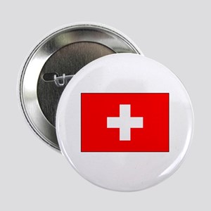 Swiss Flag for Swiss Pride Button