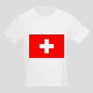 Swiss Flag for Swiss Pride Kids T-Shirt