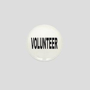 Volunteer Mini Button