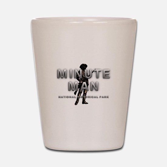 ABH Minute Man Shot Glass