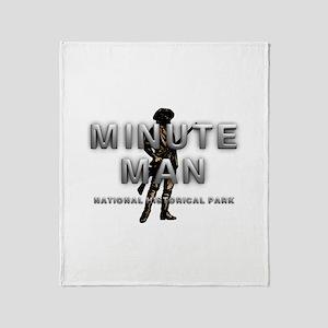 ABH Minute Man Throw Blanket