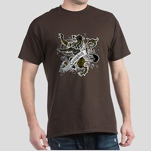 Campbell Tartan Lion Dark T-Shirt
