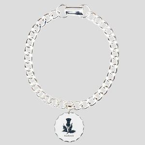 Thistle-MacKenzie Charm Bracelet, One Charm