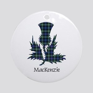 Thistle-MacKenzie Round Ornament