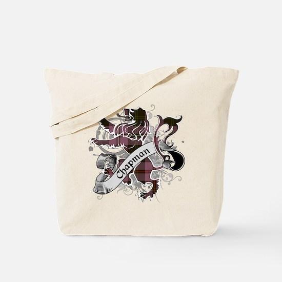 Chapman Tartan Lion Tote Bag