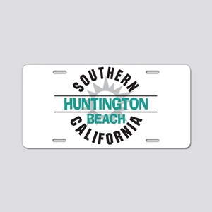 Huntington Beach California Aluminum License Plate