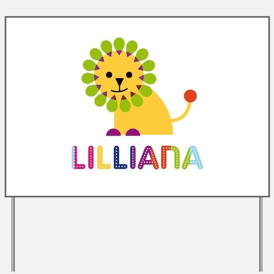 Lilliana the Lion Yard Sign