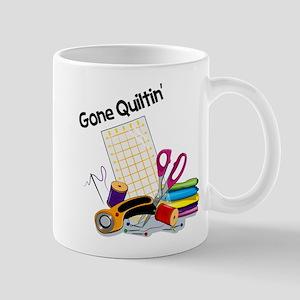 Gone Quiltin' Mug