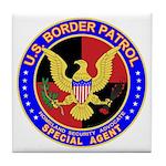 US Border Patrol SpAgnt Tile Coaster