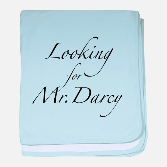 Looking for Mr. Darcy baby blanket