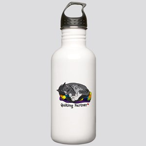 Quilting Partner Stainless Water Bottle 1.0L