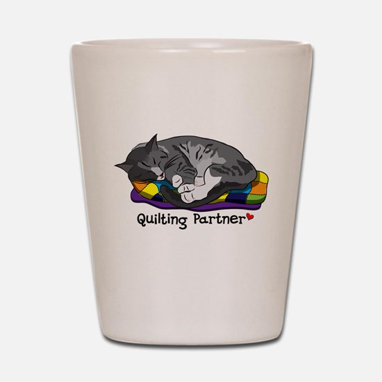 Quilting Partner Shot Glass