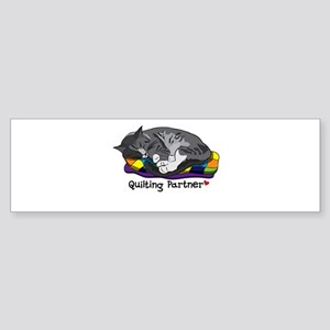 Quilting Partner Sticker (Bumper)