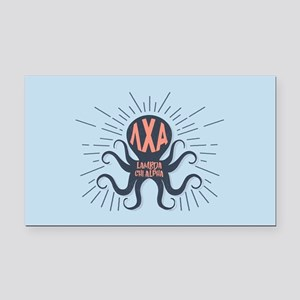 LCA Octopus Rectangle Car Magnet