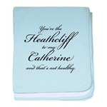 Heathcliff and Catherine baby blanket