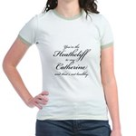Heathcliff and Catherine Jr. Ringer T-Shirt