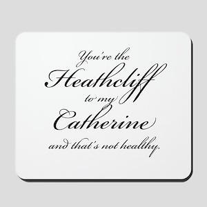 Heathcliff and Catherine Mousepad