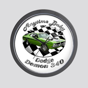 Dodge Demon 340 Wall Clock
