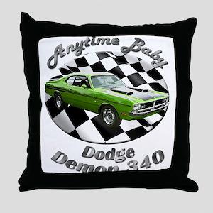 Dodge Demon 340 Throw Pillow