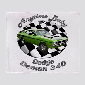 Dodge Demon 340 Throw Blanket
