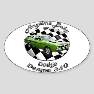 Dodge Demon 340 Sticker (Oval 10 pk)