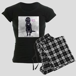 labs rule Women's Dark Pajamas