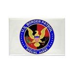 US Border Patrol SpAgnt Rectangle Magnet (100 pac