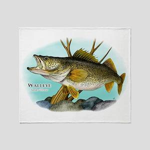 Walleye Throw Blanket