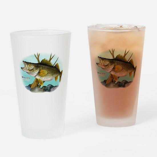 Walleye Drinking Glass