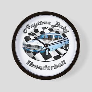 Ford Thunderbolt Wall Clock