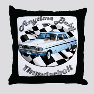 Ford Thunderbolt Throw Pillow