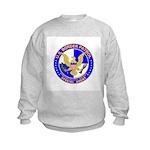 US Border Patrol SpAgnt Kids Sweatshirt