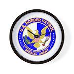 US Border Patrol SpAgnt  Wall Clock
