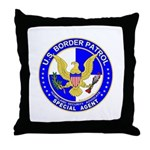 US Border Patrol SpAgnt  Throw Pillow