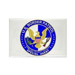 US Border Patrol SpAgnt Rectangle Magnet (10 pack