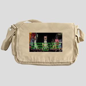 Times Square Messenger Bag
