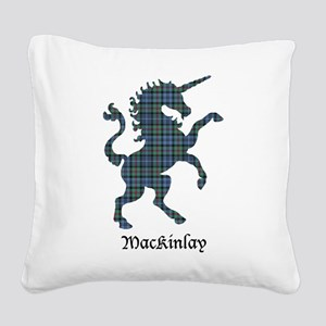 Unicorn-MacKinlay Square Canvas Pillow