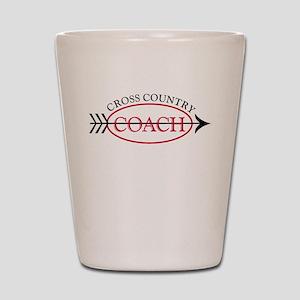 Cross Country Coach Shot Glass