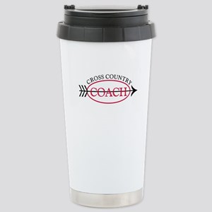 Cross Country Coach Stainless Steel Travel Mug