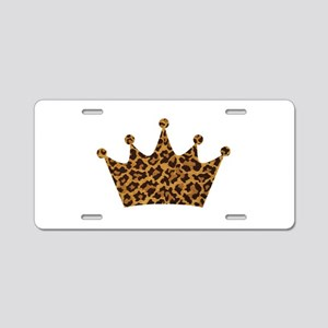 LEOPARD Aluminum License Plate