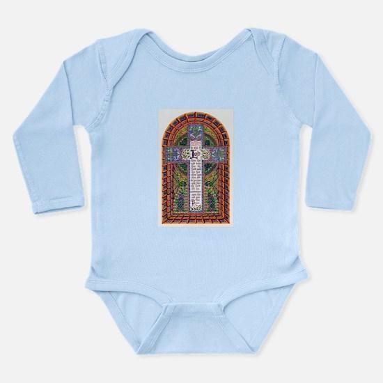 Benediction Long Sleeve Infant Bodysuit
