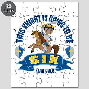 6th Birthday Knight Puzzle